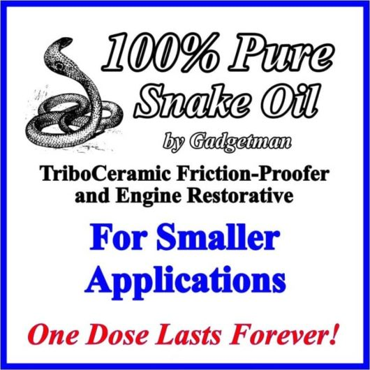 Snake Oil for Smaller Applications