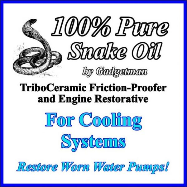 Snake Oil for Cooling Systems