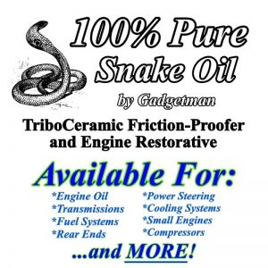 100% Pure Snake Oil by Gadgetman