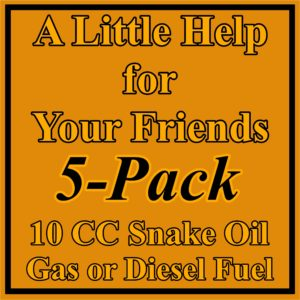 5 Pack 10 CC Fuel System Treatment
