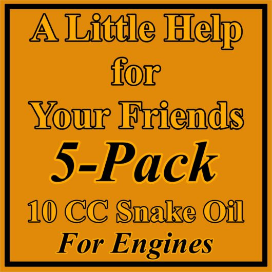 5 Pack 10 CC Engine Treatment