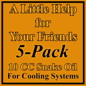 5 Pack 10 CC for Cooling Systems