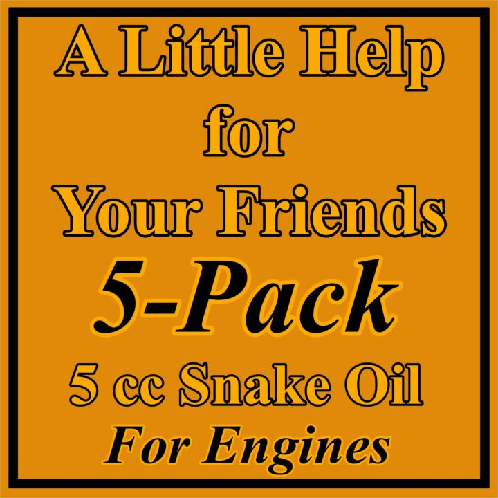 5 Pack for Engines