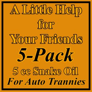 5 Pack Auto Trans Treatment
