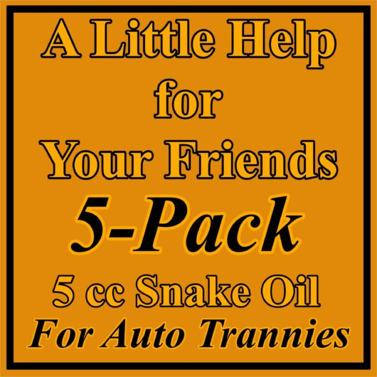 5 Pack Auto Trans Treatment