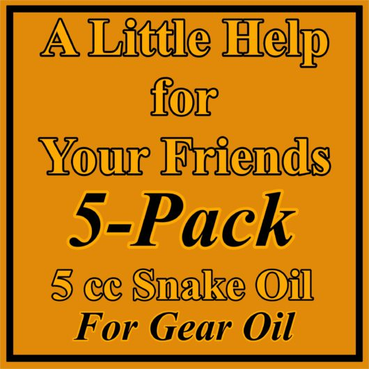 5 Pack Gear Oil