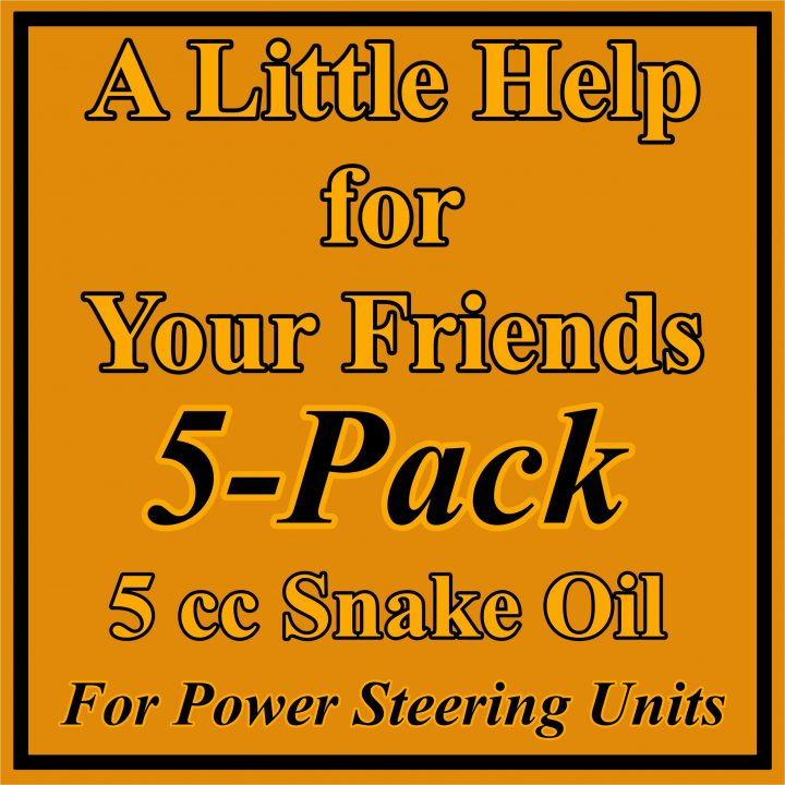 5 pack 5 CC SO for Power Steering Systems
