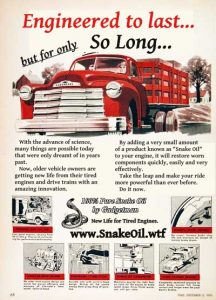 Old vehicles don't need to be retired. Give them a dose of Snake Oil by Gadgetman and watch them come alive!